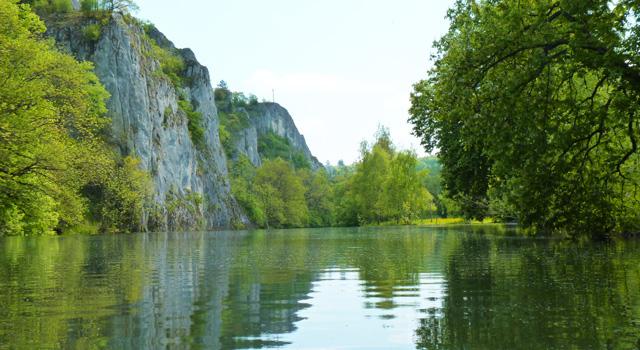 Auch für einen Blick auf die schönen Ufer unserer Flüsse bleibt immer Zeit.